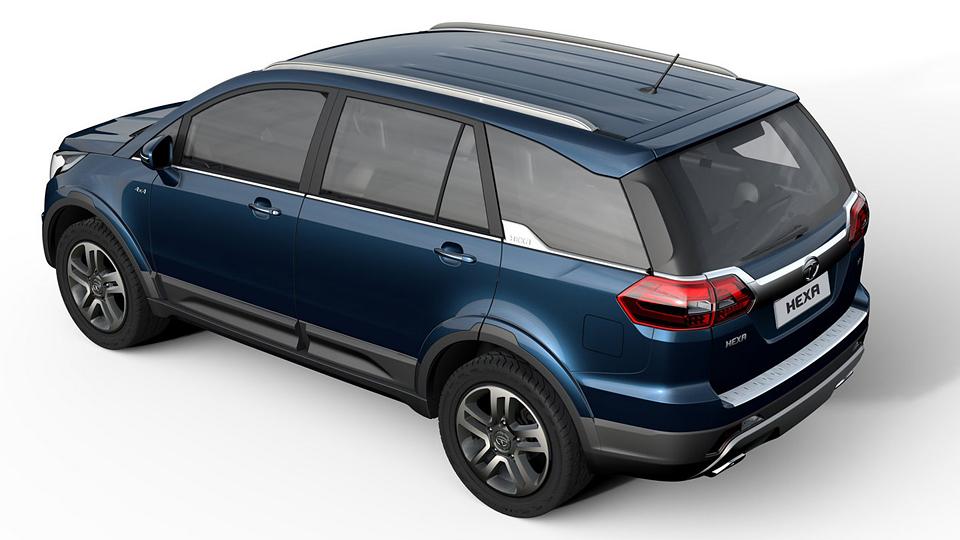 В Нью-Дели дебютировала модель Tata Hexa. Фото 2