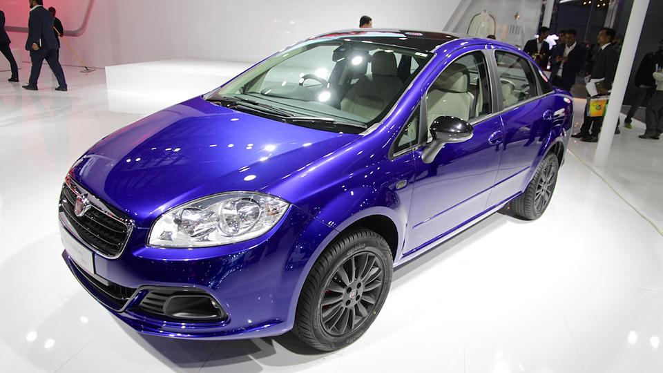 Fiat подготовил «спортивную» версию седана Linea