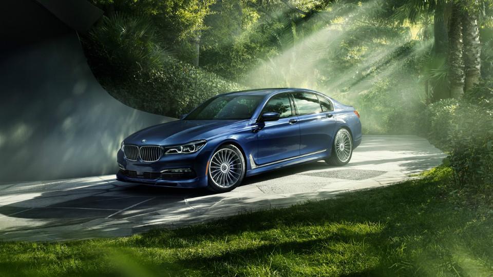 Компания Alpina «зарядила» новую «семерку» BMW