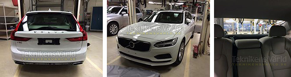Volvo V90 придет на смену модели V70
