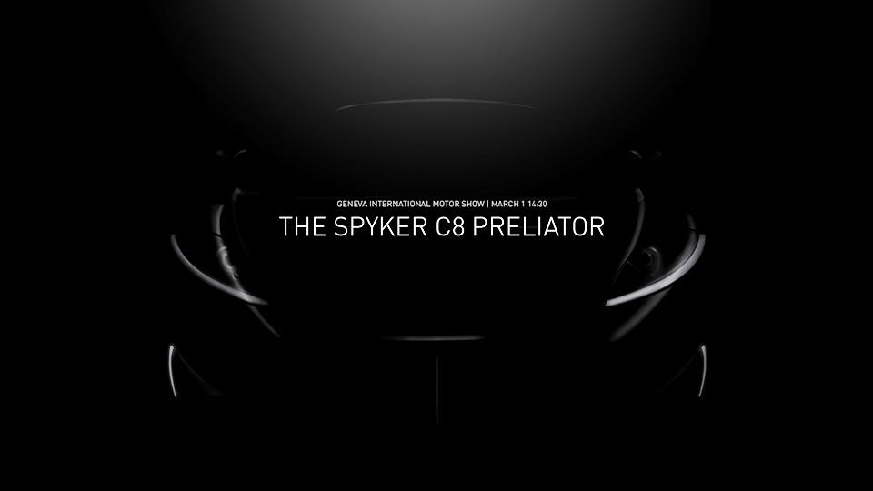 Spyker придумал название для новой модели