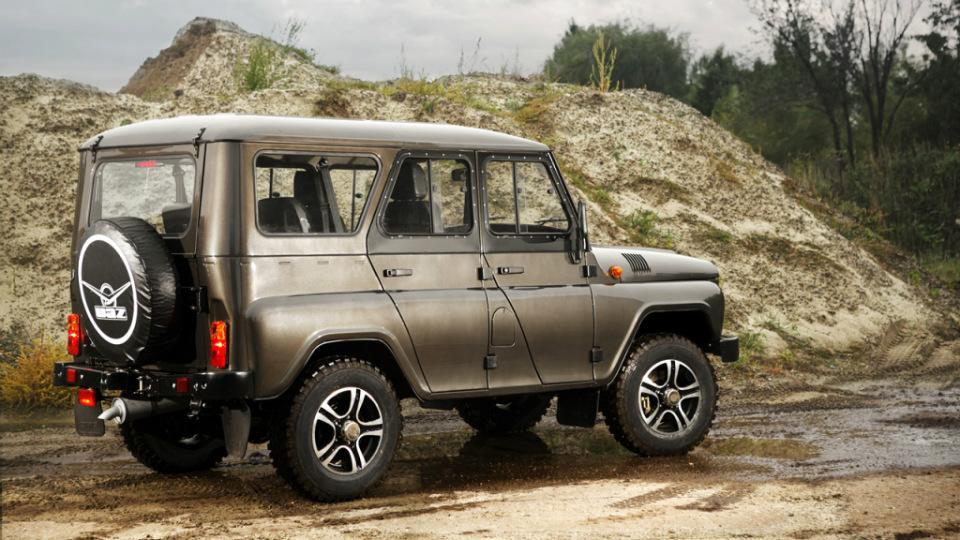 «УАЗ» возобновил выпуск внедорожника Hunter