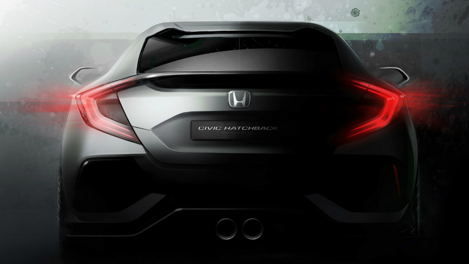 «Хонда» привезет в Женеву прототип европейского Civic