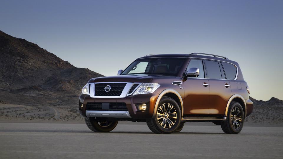 Nissan привез в США новую «Армаду»
