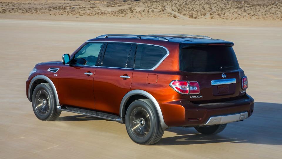 Версию Nissan Patrol для американского рынка представят в Чикаго