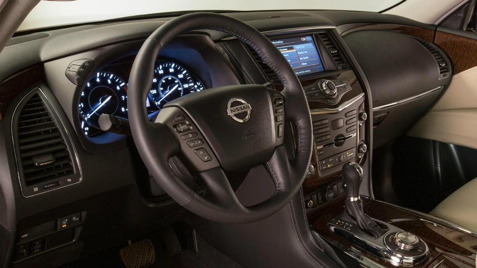 Версию Nissan Patrol для американского рынка представят в Чикаго. Фото 1