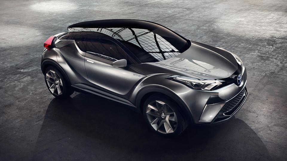 Конкурент Nissan Juke дебютирует на выставке в Женеве
