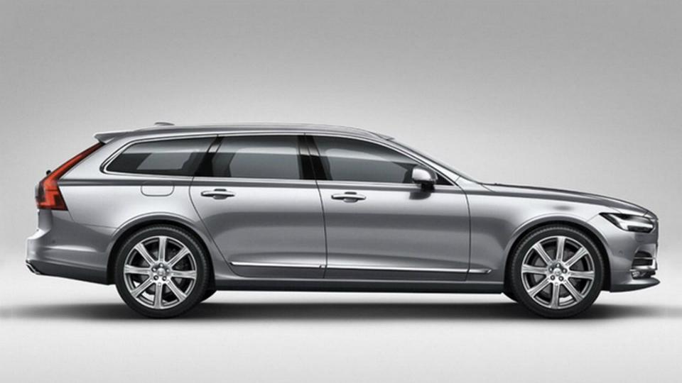 Самый большой универсал Volvo построили на базе флагманского седана S90