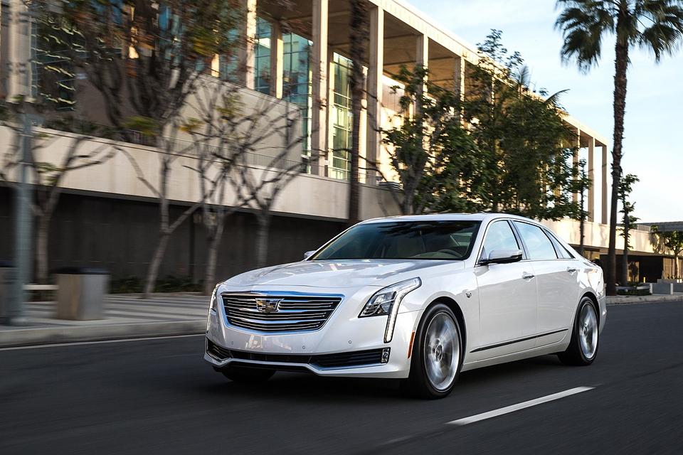 Сможет ли Cadillac навязать борьбу немцам с новым роскошным седаном CT6. Фото 6