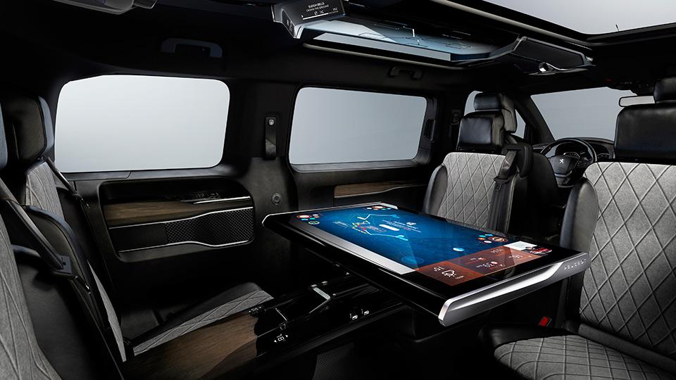 Компания Peugeot рассказала о прототипе Traveller i-Lab