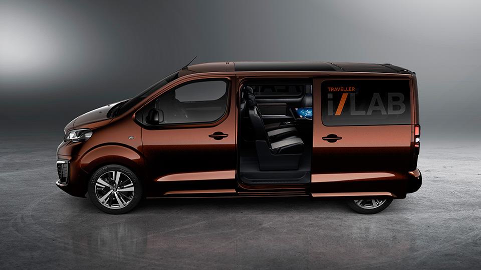 Компания Peugeot рассказала о прототипе Traveller i-Lab . Фото 1