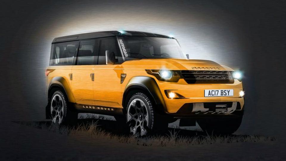 Выпуск нового Land Rover Defender отложили на год