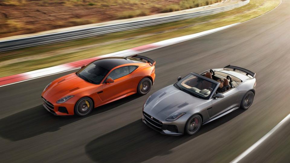 Jaguar F-Type SVR сможет разгоняться до 322 километров в час