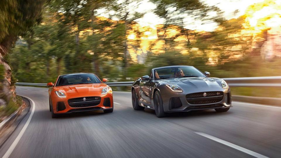 Jaguar F-Type SVR сможет разгоняться до 322 километров в час. Фото 1