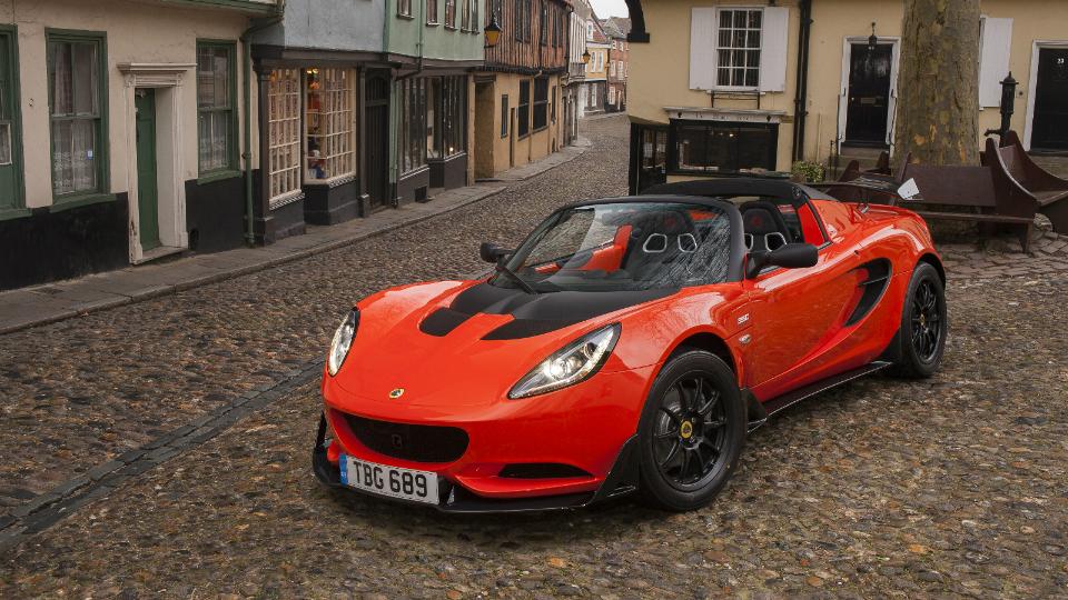 Lotus выпустил самую быструю версию спорткара Elise