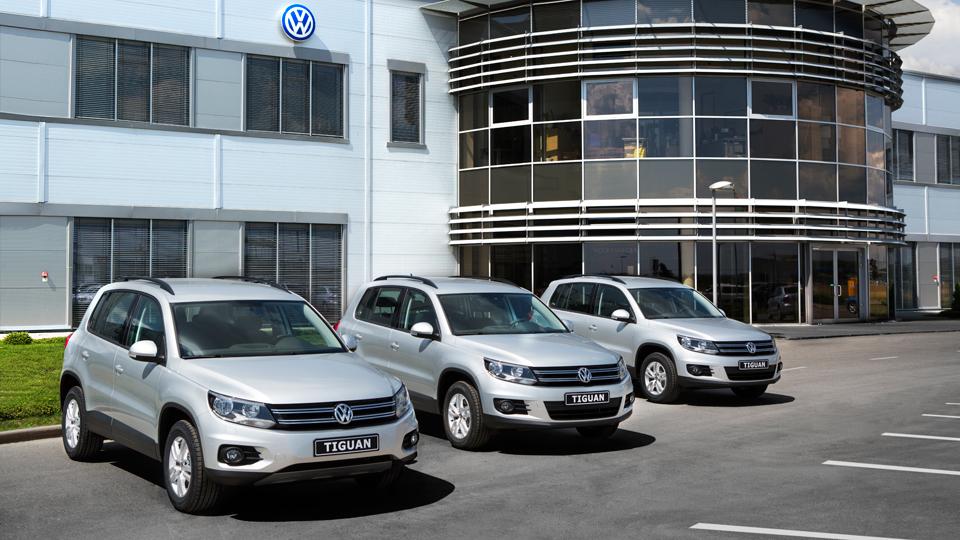 Volkswagen объявил в России отзыв из-за «дизельгейта»