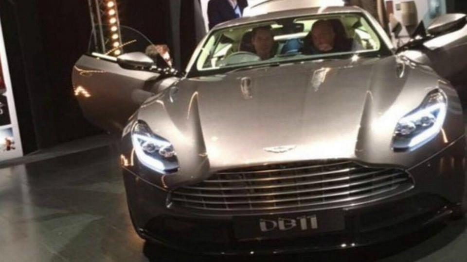 В Сети показали внешность нового суперкара Aston Martin