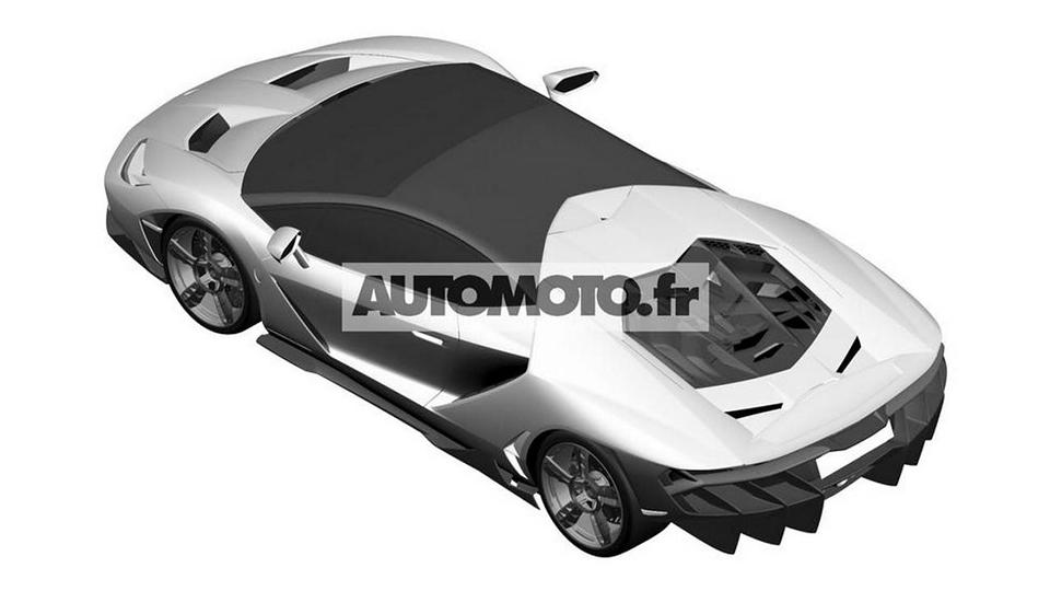 Экстремальное купе Centenario LP770-4 V12 дебютирует в Женеве. Фото 1