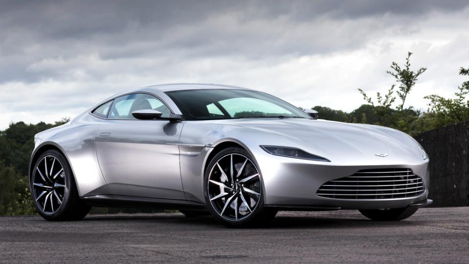 Aston Martin DB10 Джеймса Бонда продали за 3,5 миллиона долларов