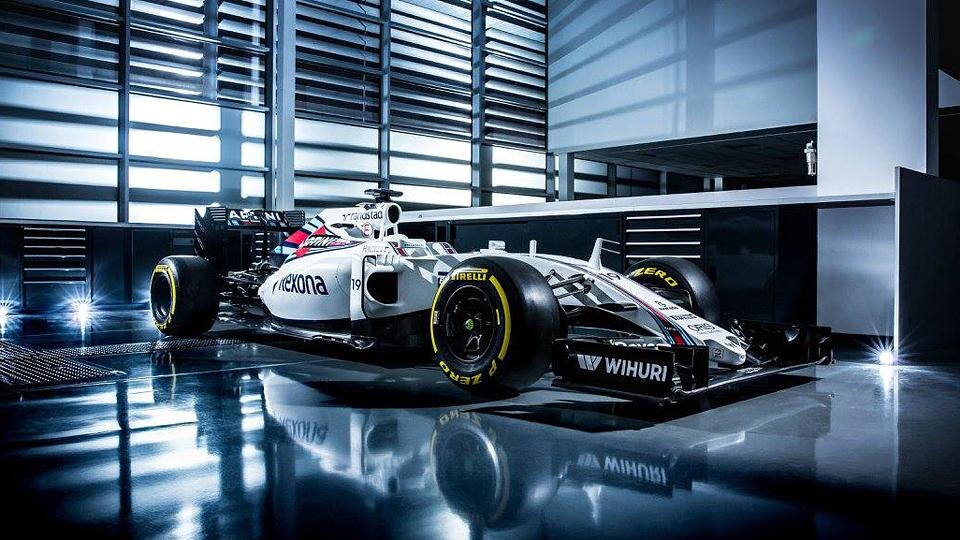 Команда Williams показала новый болид Формулы-1