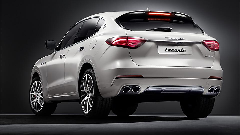 Опубликованы официальные фотографии вседорожника Maserati Levante