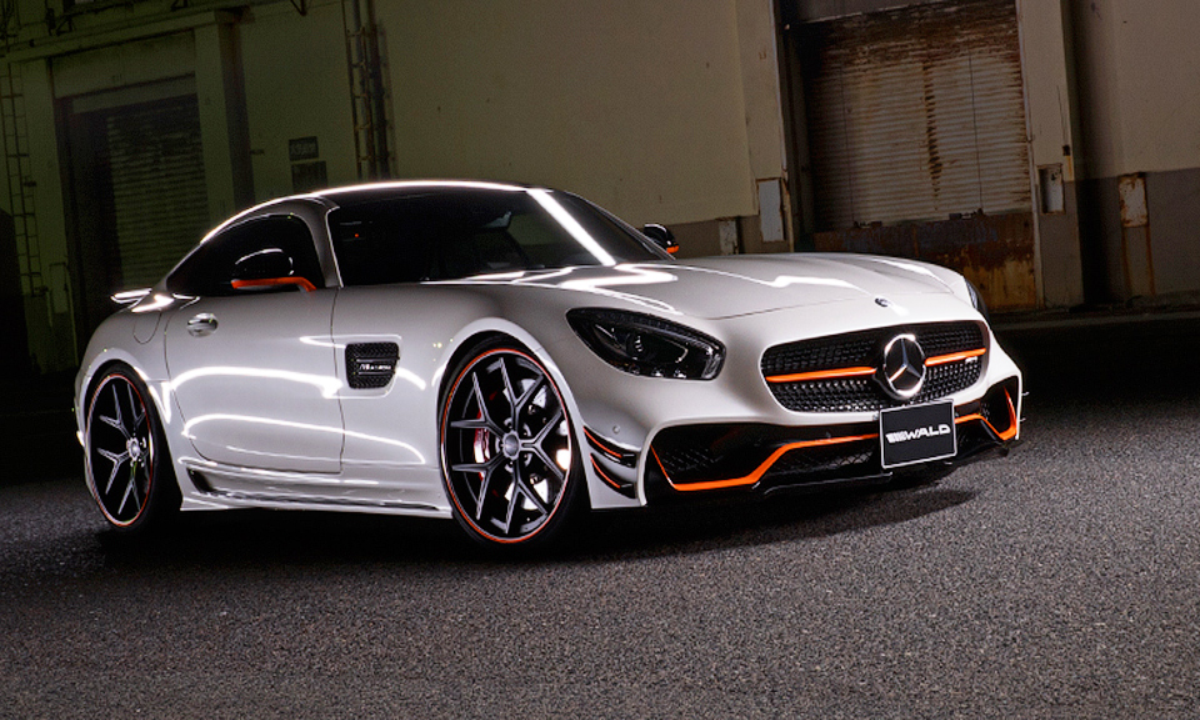 Ателье Wald подготовило карбоновый вариант Mercedes-AMG GT