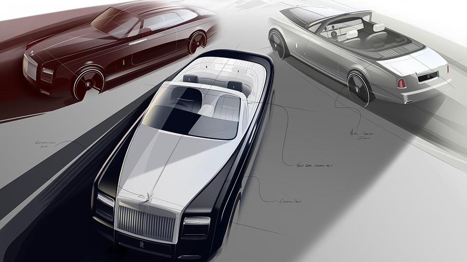 Rolls-Royce попрощается с купе и кабриолетом Phantom спецверсией