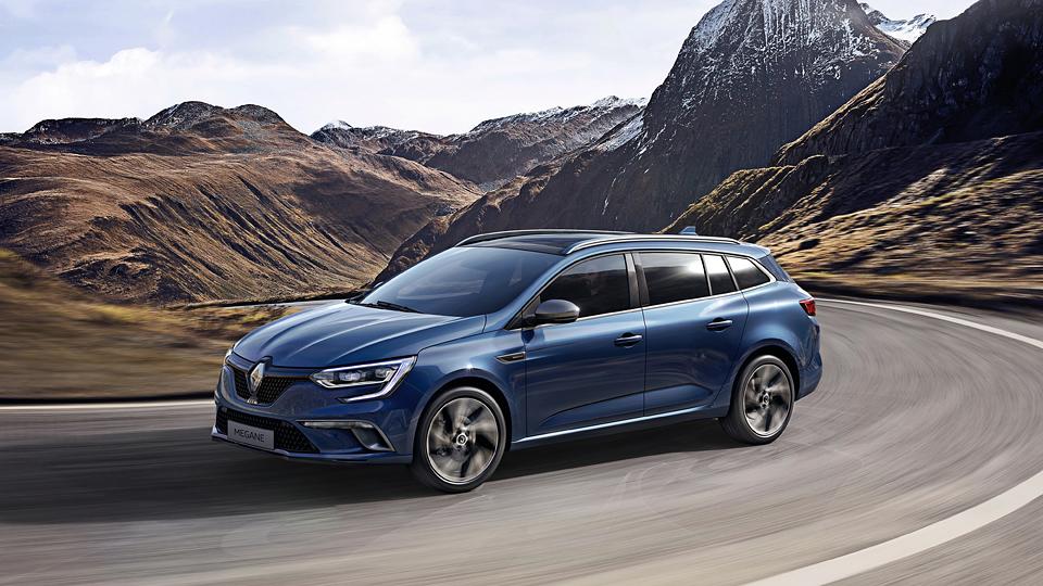 В Сети появились первые снимки универсала Renault Megane