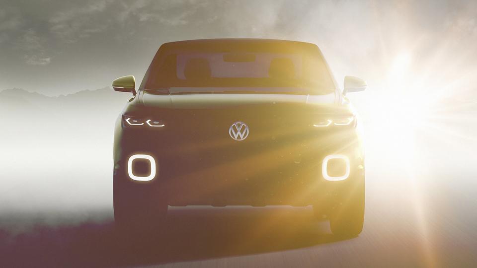 Volkswagen частично раскрыл конкурента Nissan Juke