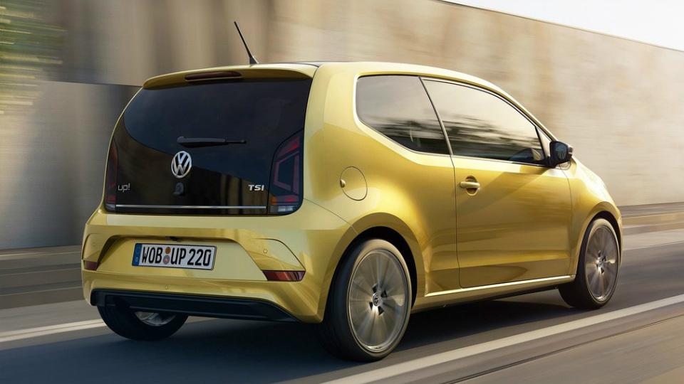 Volkswagen up! оснастили 90-сильным трехцилиндровым двигателем