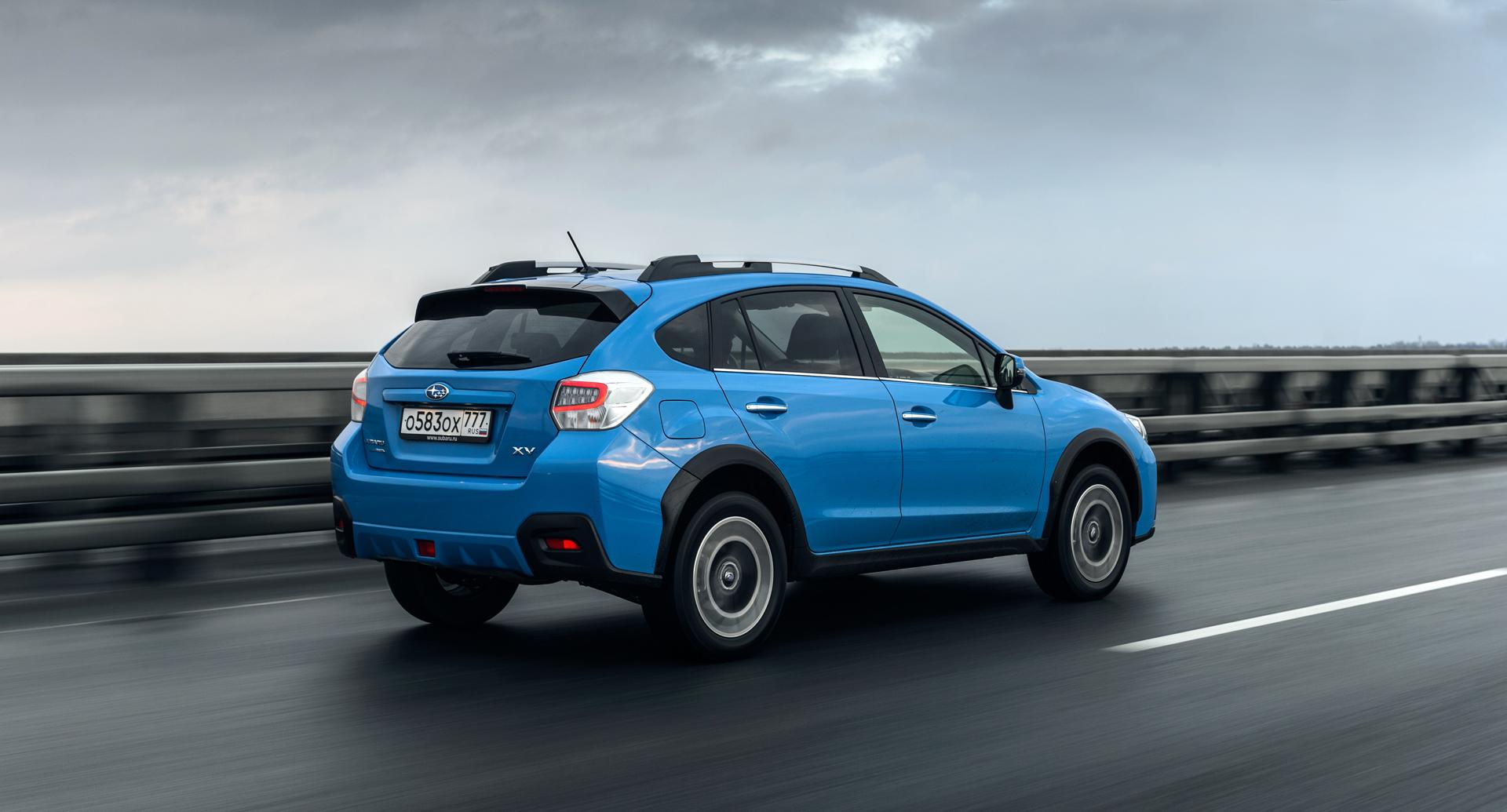 Чем обновленный Subaru XV попытается оправдать свой жуткий ценник. Фото 3