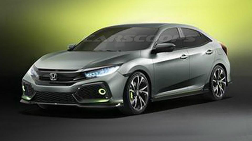 Раскрыт дизайн прототипа нового Honda Civic для Европы