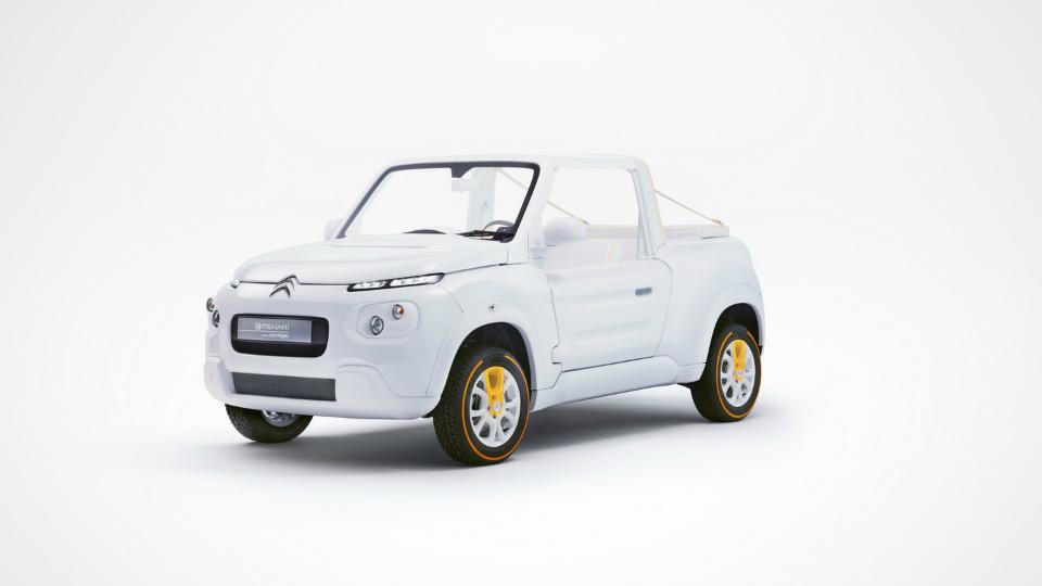 Электрический кроссовер-кабриолет Citroen превратили в модный концепт