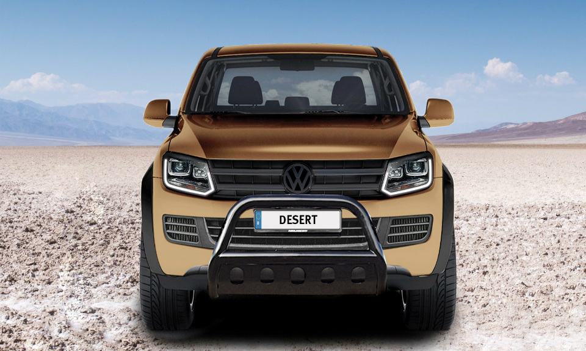 Volkswagen Amarok подготовили к езде по пустыне