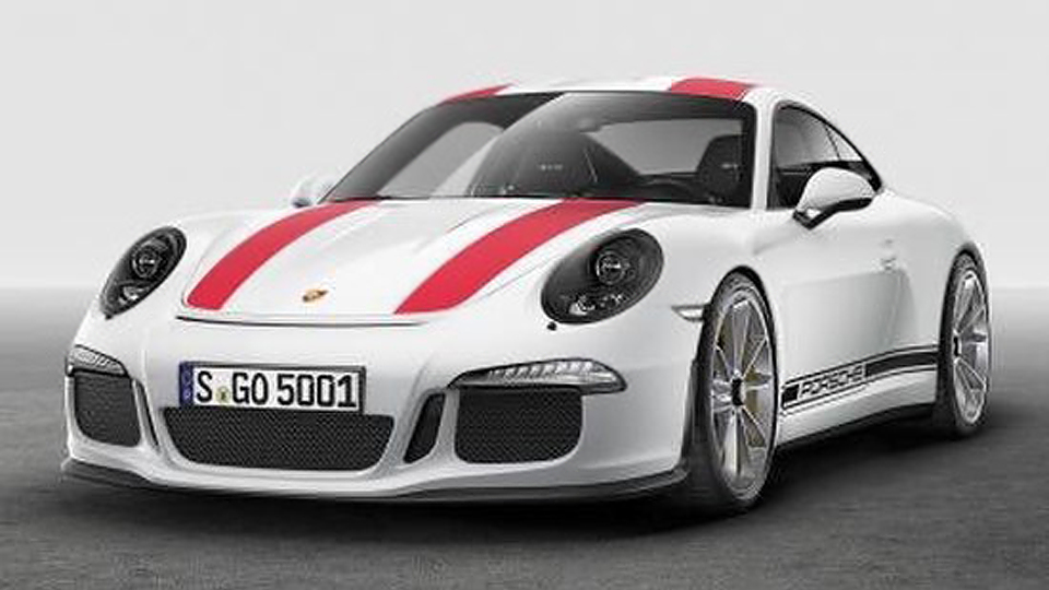 Внешность «юбилейного» Porsche 911 перестала быть секретом
