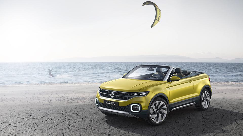 Volkswagen разработал вседорожный кабриолет