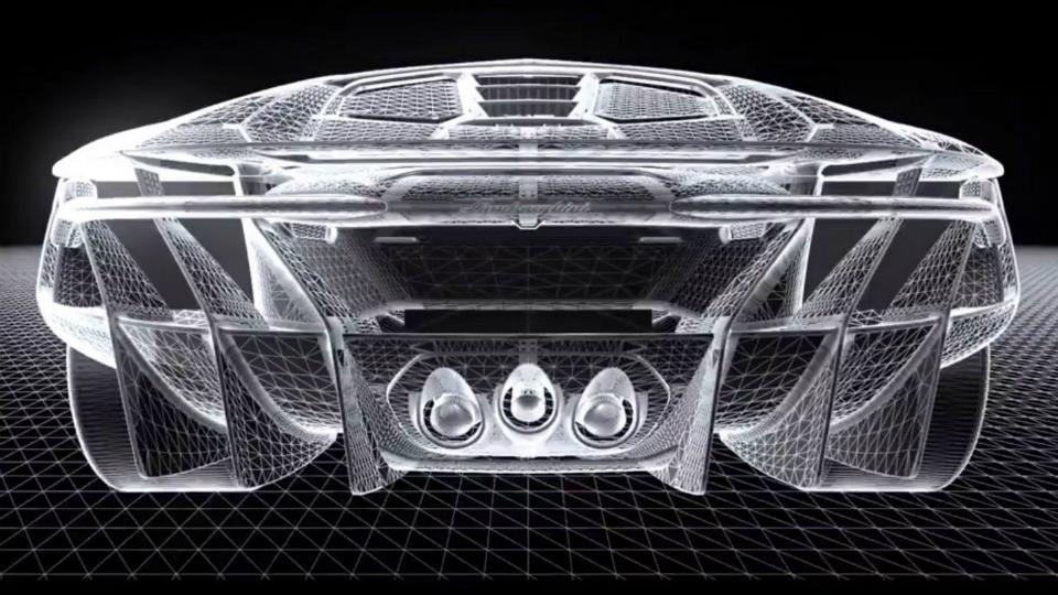 Самый экстремальный Aventador получит черно-желтую раскраску