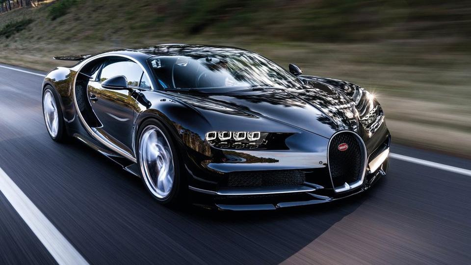 Марка Bugatti представила 1500-сильную замену «Вейрону»