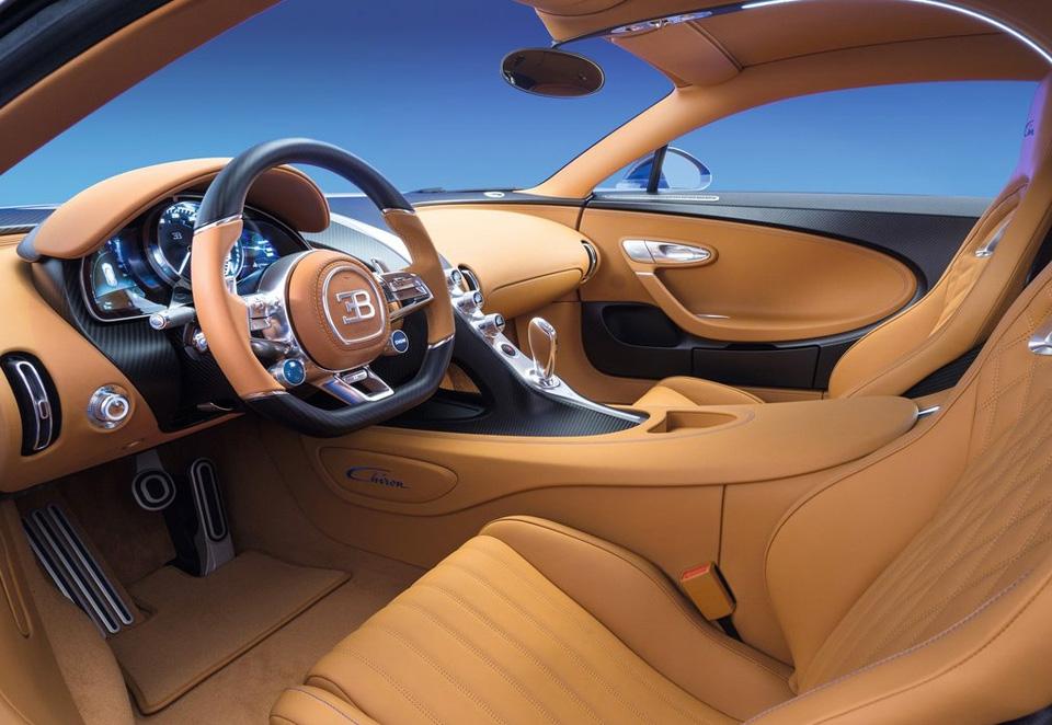 Гиперкар Bugatti Chiron выпустят тиражом в 500 экземпляров. Фото 3