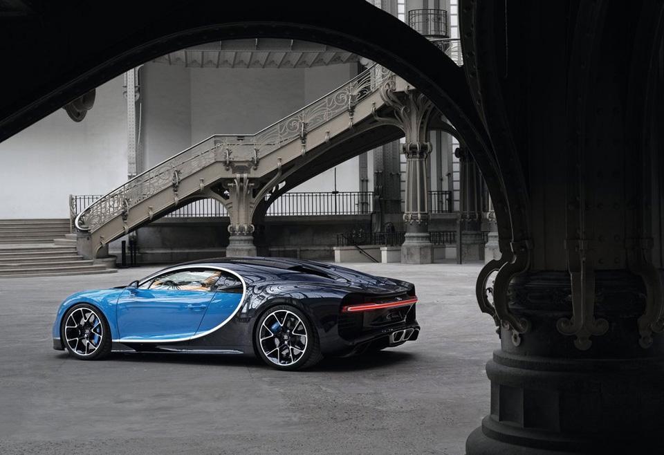 Гиперкар Bugatti Chiron выпустят тиражом в 500 экземпляров. Фото 1