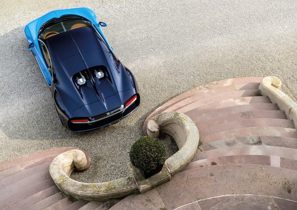 Гиперкар Bugatti Chiron выпустят тиражом в 500 экземпляров
