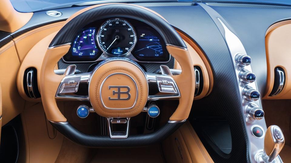 Гиперкар Bugatti Chiron выпустят тиражом в 500 экземпляров. Фото 4