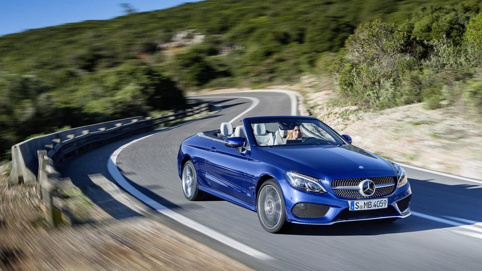 Mercedes-Benz C-Class получил мягкую крышу