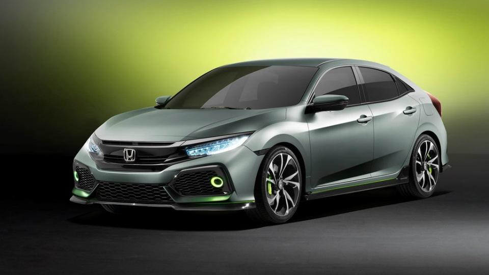 «Хонда» показала предвестника хэчтбека Civic нового поколения