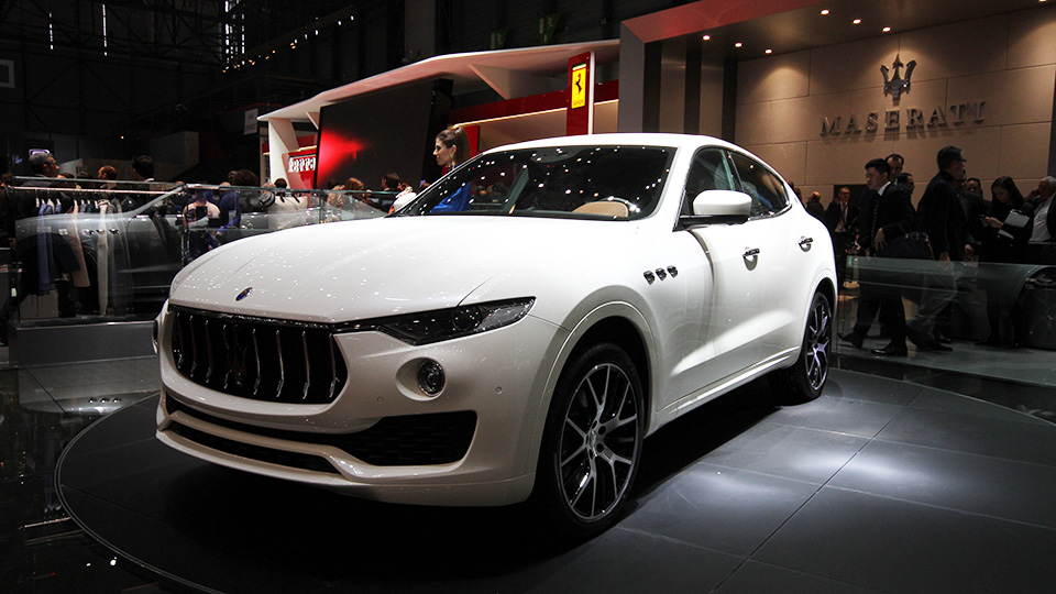 В Maserati раскрыли характеристики вседорожника Levante