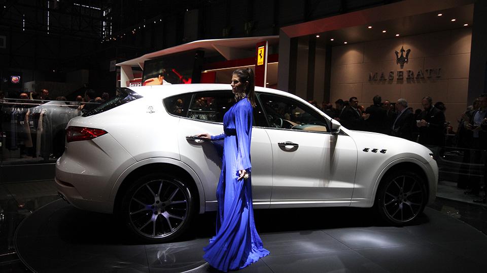 Мощнейшая версия кроссовера Maserati получила 430-сильный двигатель