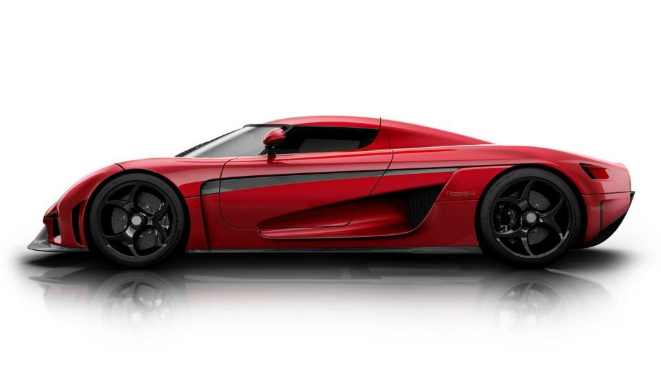 Koenigsegg Regera разгонится до 400 километров в час за 20 секунд