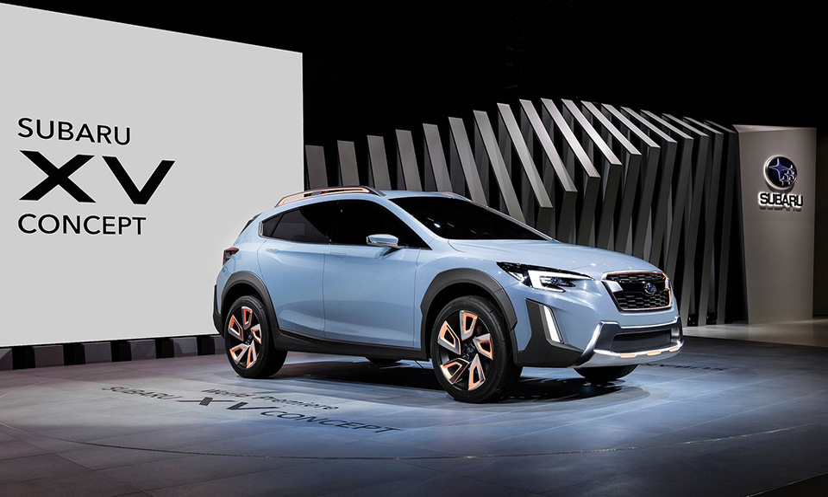 Subaru представила предвестника нового XV