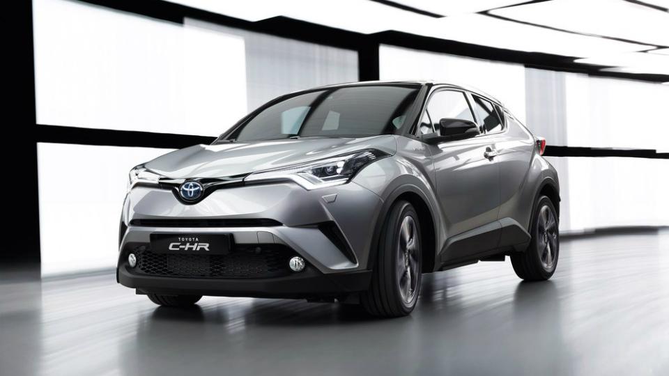 «Тойота» построила конкурента Nissan Juke