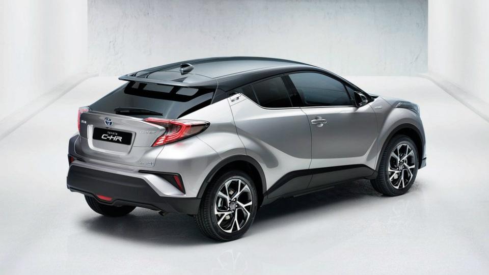 Европейские продажи Toyota C-HR начнутся во второй половине 2016 года